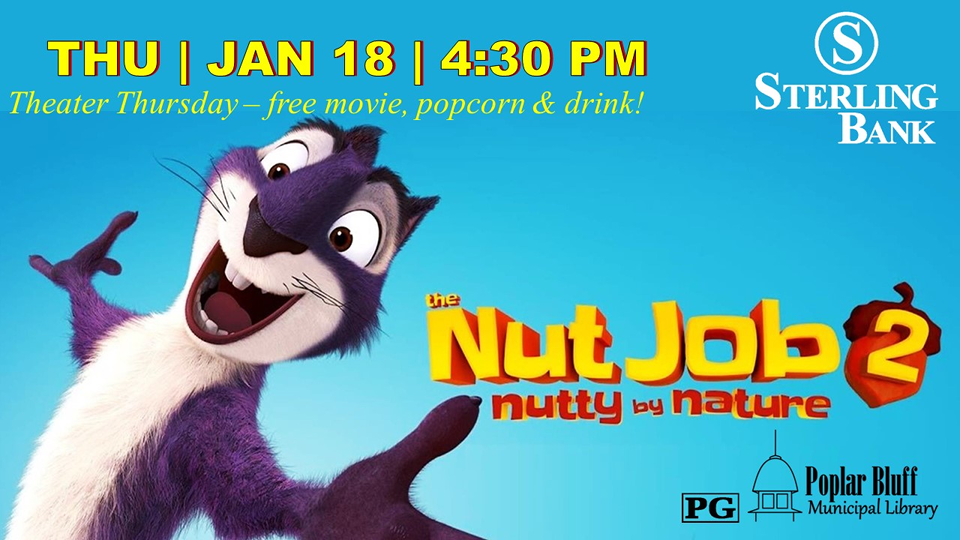 FREE MOVIE AND REFRESHMENT! Theater Thursday!